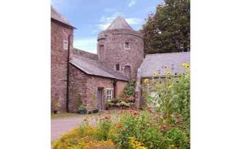 Tiverton Castle, Devon, England