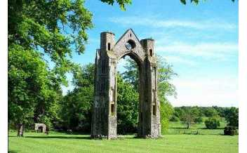 Walsingham Abbey, Norfolk, England