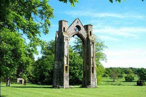 Walsingham Abbey, Norfolk, England