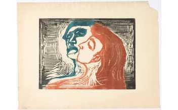 Edvard Munch: Love and Angst, Exhibition, British Museum, London: 11 April 2019 - 21 July 2019