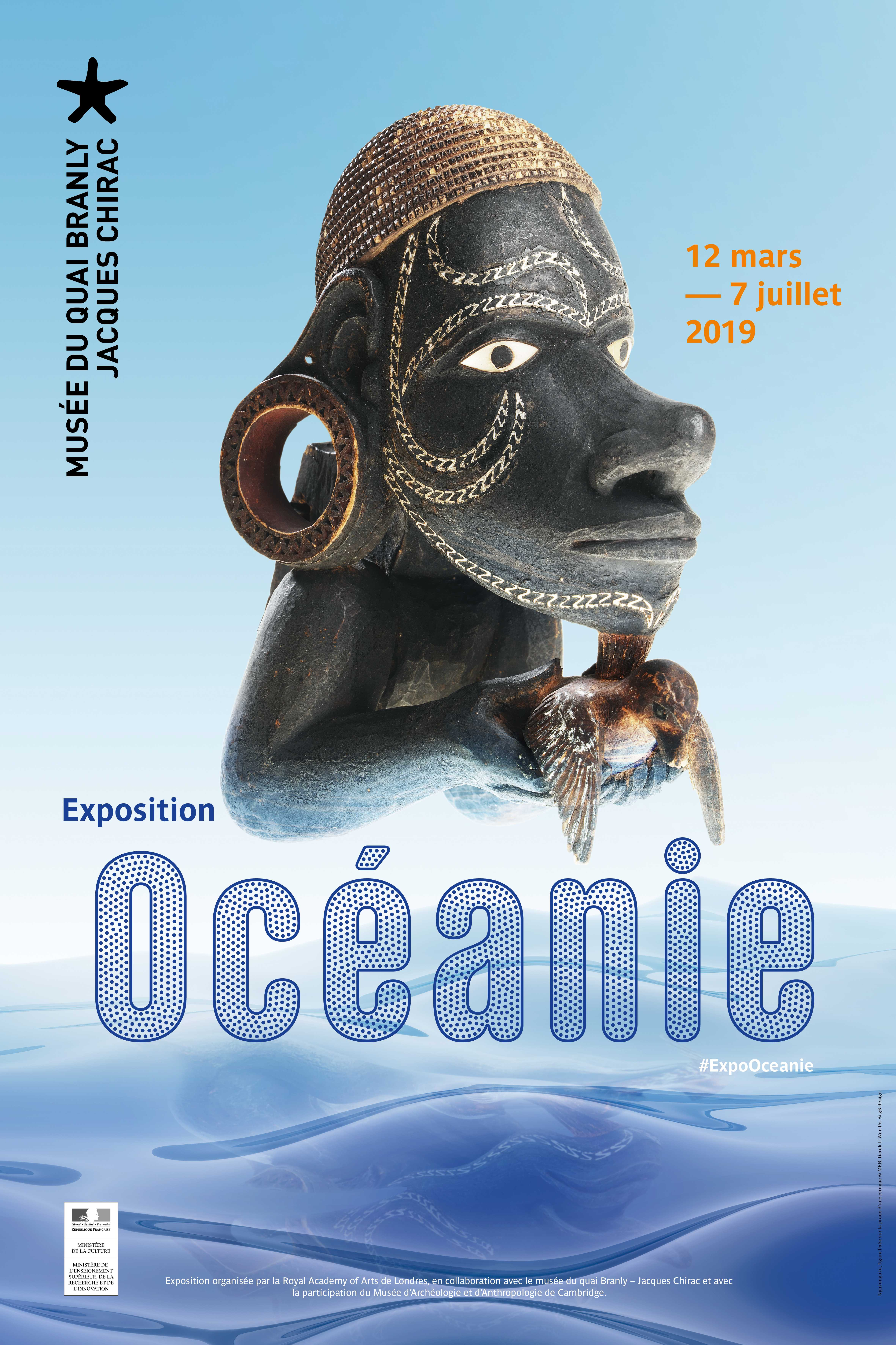 Océanie, Exhibition, Quai Branly, Paris: 12 March 2019-07 July 2019