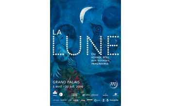 The Moon. From real travel to imaginary journeys, Exhibition, Grand Palais, Paris: 3 April - 22 July 2019