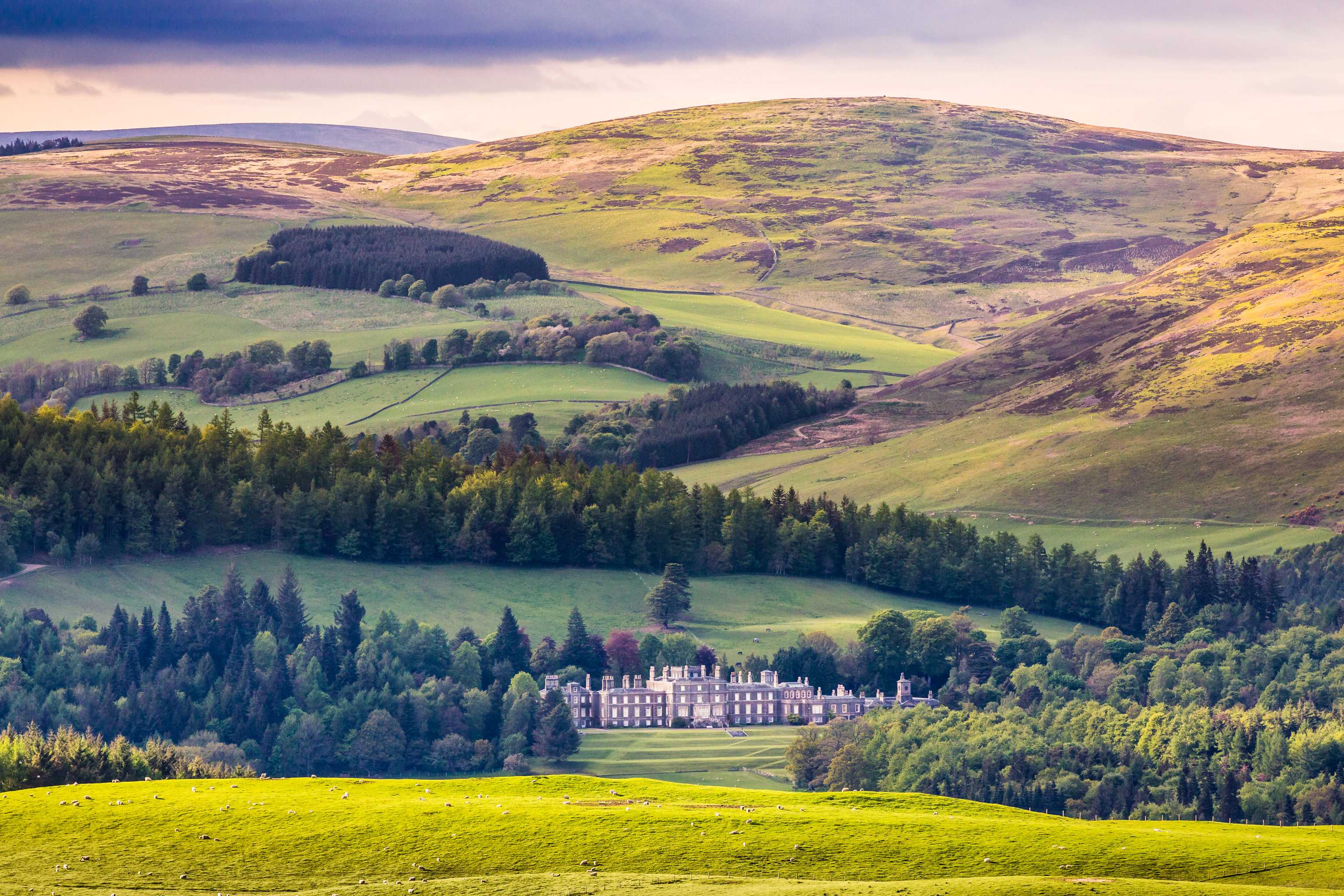 Bowhill House, Selkirk, Scottish Borders, Scotland