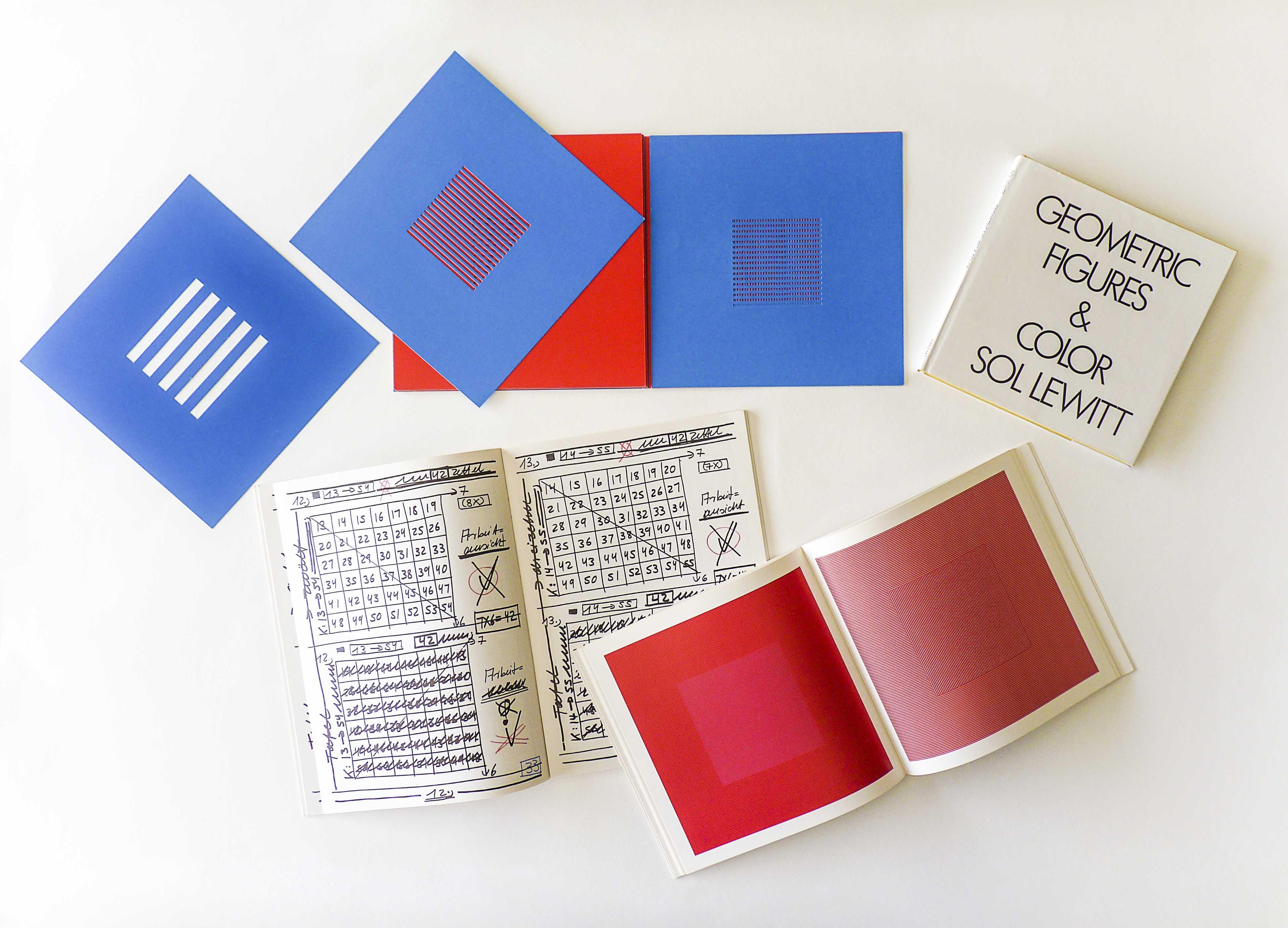 Llibres d'artista d' Hanne Darboven, Sol Lewitt i Dieter Roth Col·lecció MACBA. Centre d'Estudis i Documentació Foto: Gemma Planell
