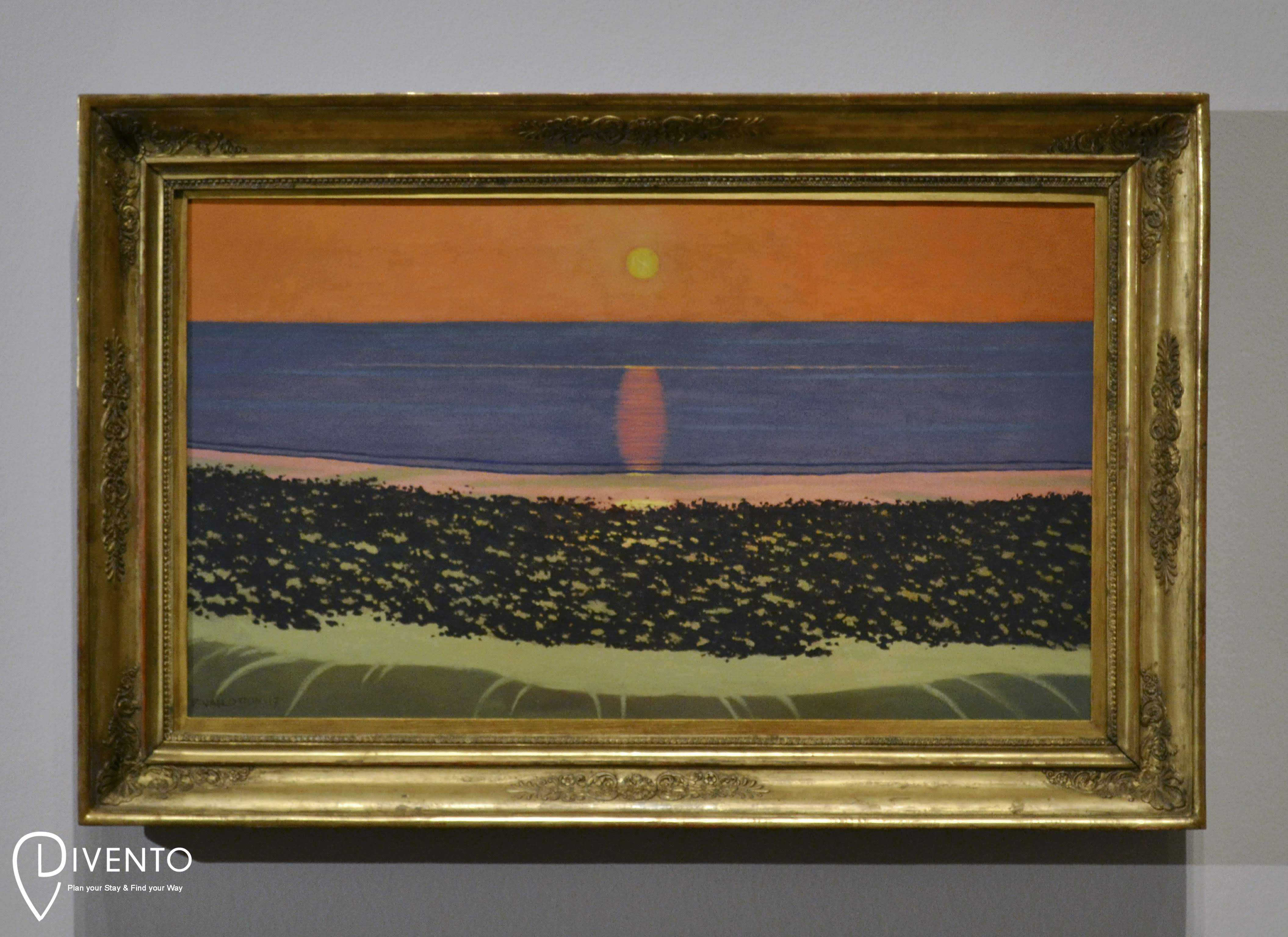 Félix Vallotton, in an exhibition at the Royal Academy in London 30 June - 29 September