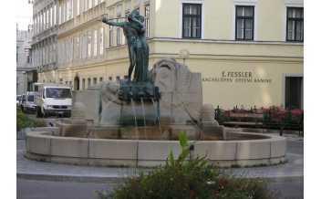 Mozart Fountain, Vienna