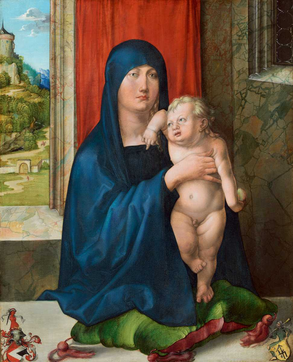 Albrecht Dürer Madonna and Child [obverse] c. 1496/1499 © National Gallery of Art, Washington DC