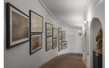 Sala dei paesaggi in Galleria dell'Accademia Nazionale di San Luca, Rome: 08 November 2013 - 31 March 2020