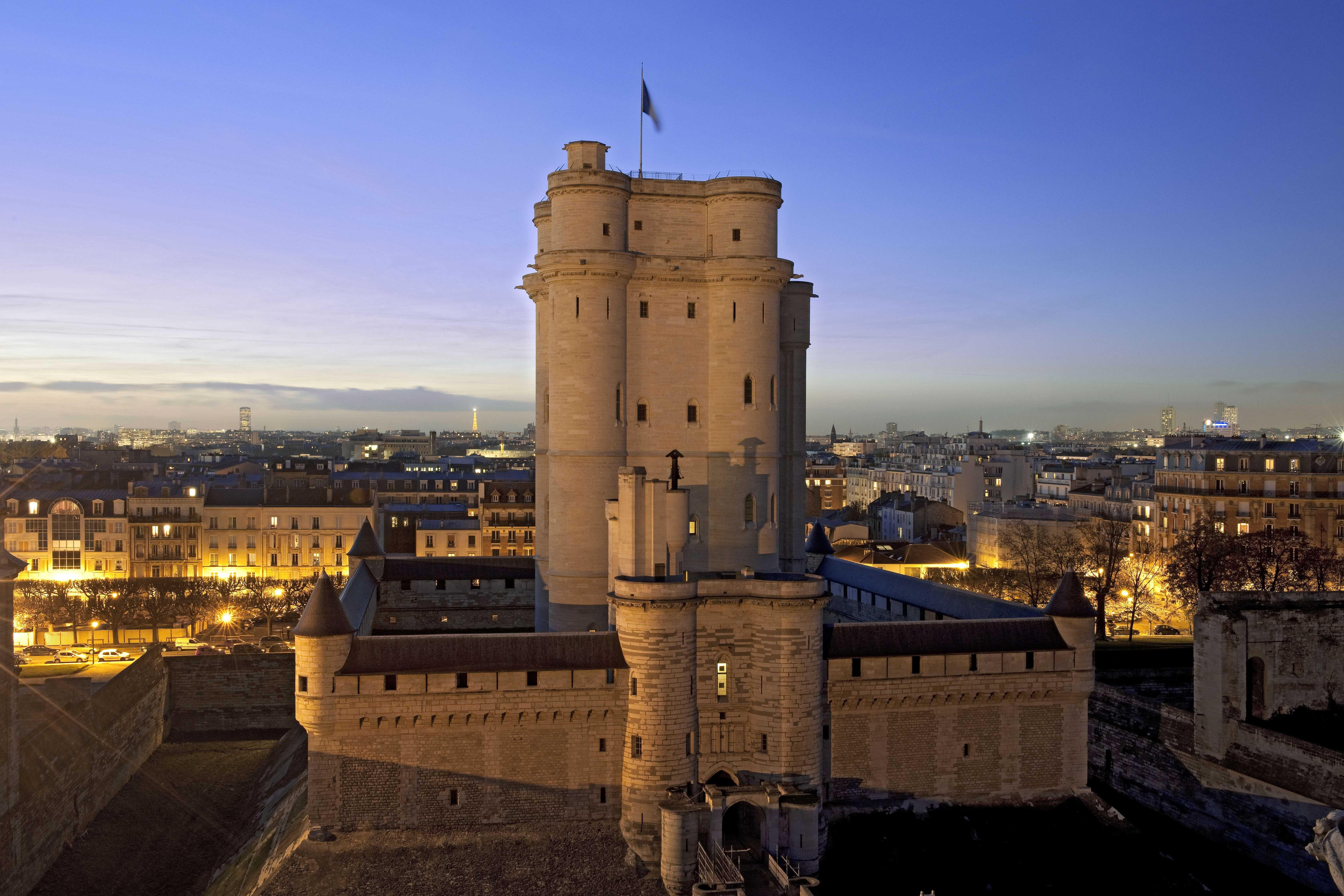 Château de Vincennes © Jean-Pierre Delagarde Centre des monuments nationaux