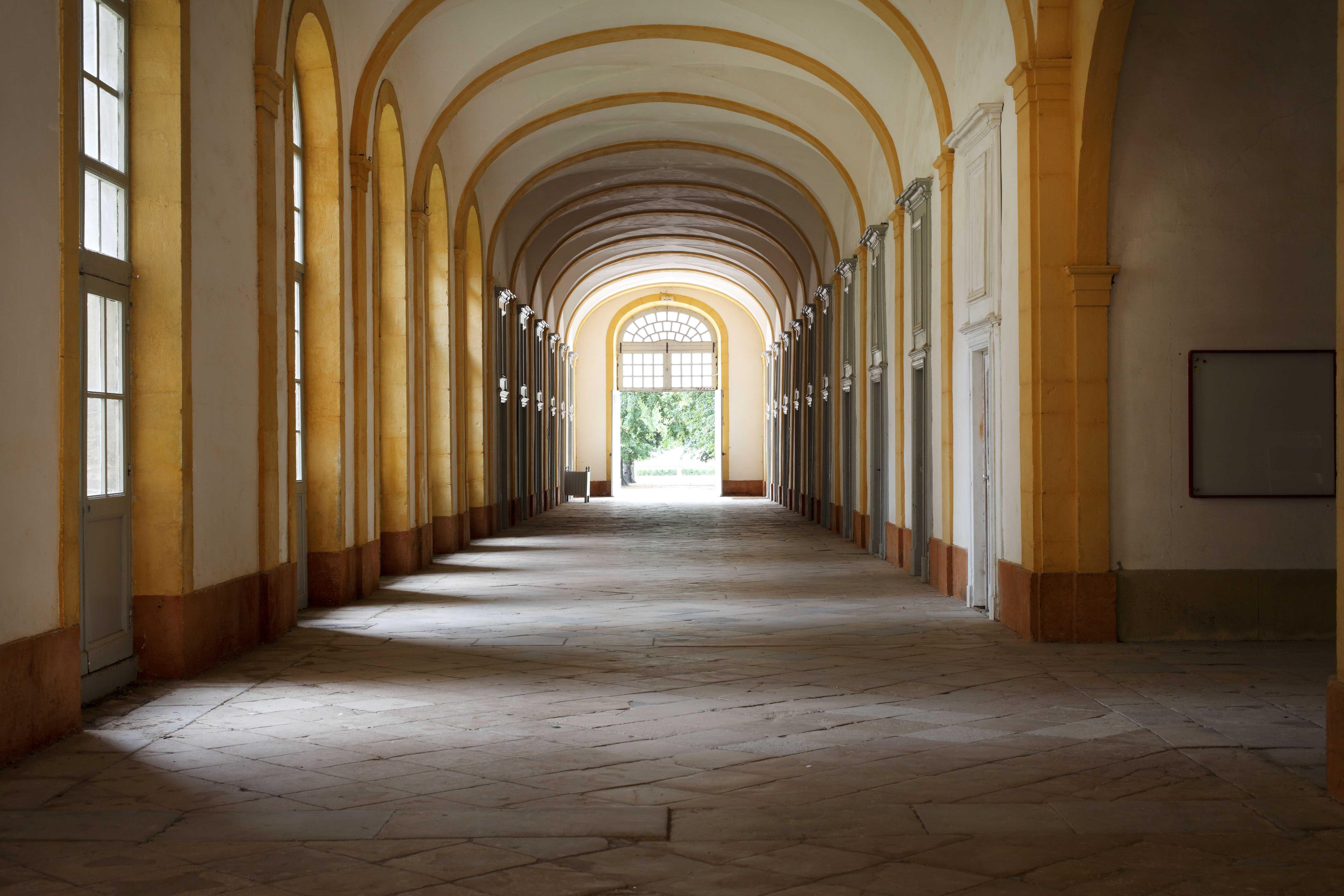 Abbaye de Cluny, bâtiment conventuel, aile nord, galerie @ D.Bordes_CMN_FLC
