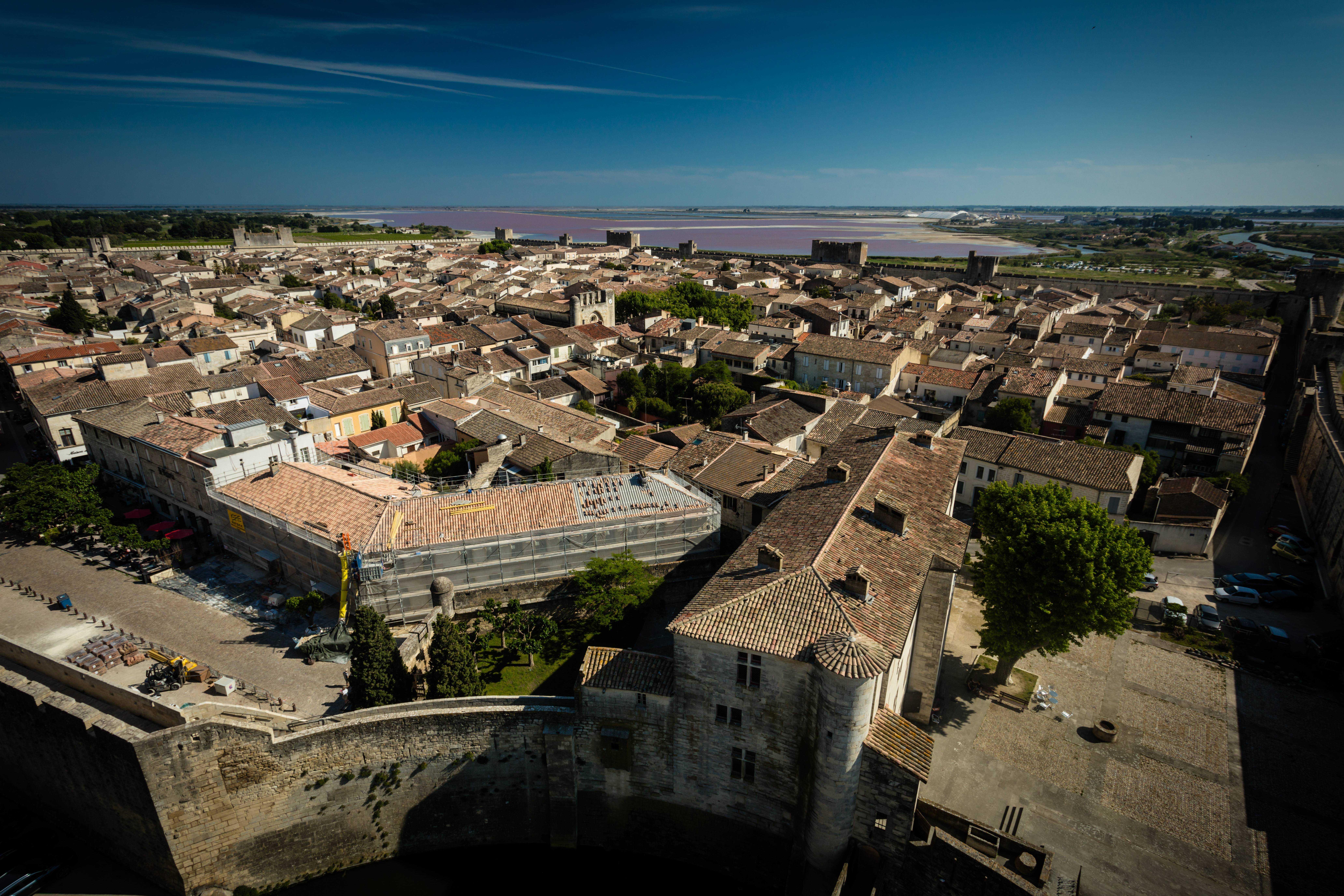 remparts Aigues-mortes@H. Leclair