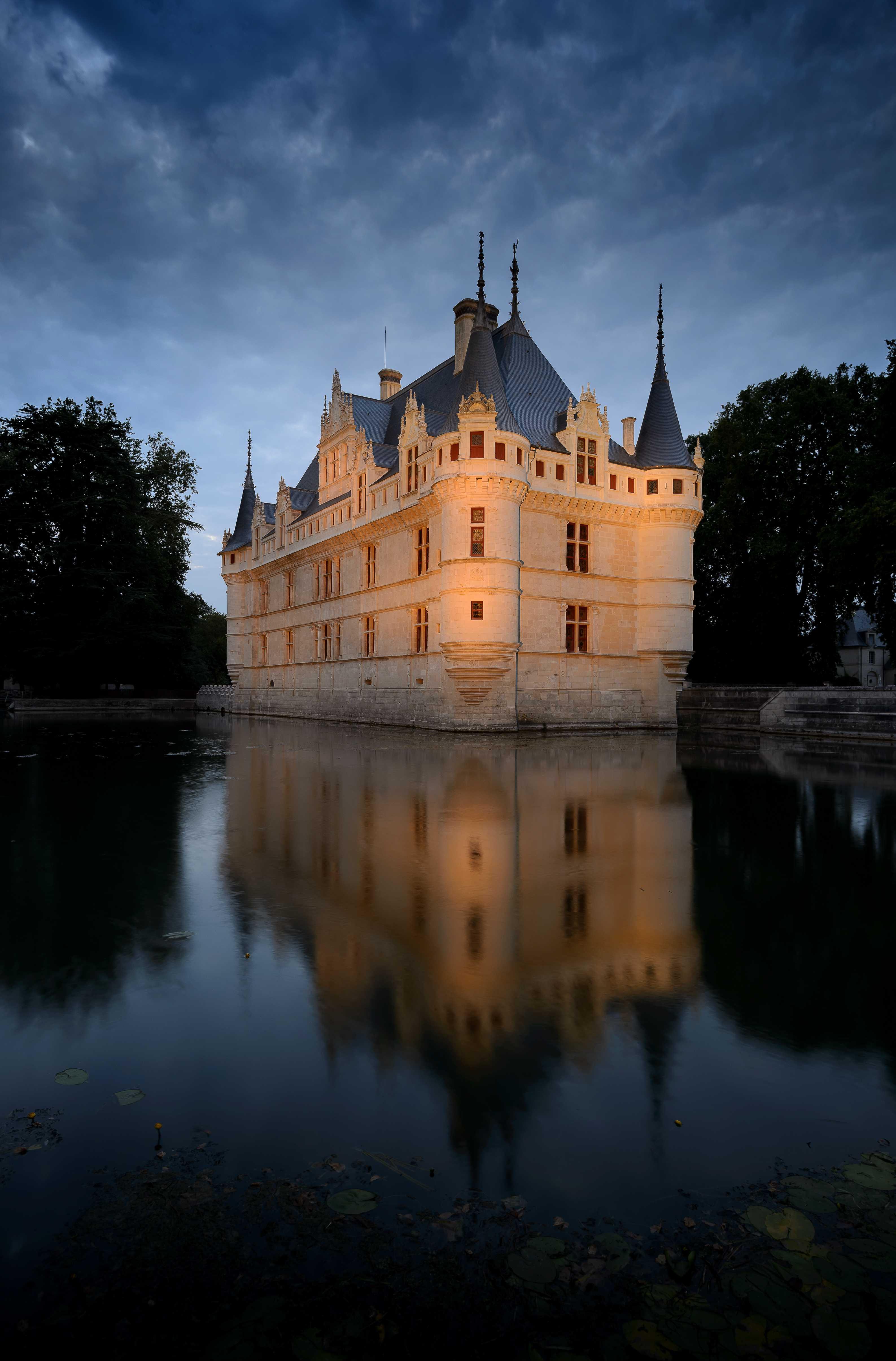 Nocturnes Chateau Azay le Rideau©Léonard de Serres - CMN