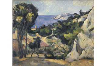 Paul Cézanne, L'Estaque, 1879-83. Oil on canvas, 80.3 x 99.4 cm. The Museum of Modern Art, New York. The William S. Paley Collection, 1959. © 2019. Digital image, The Museum of Modern Art, New York/Scala, Florence
