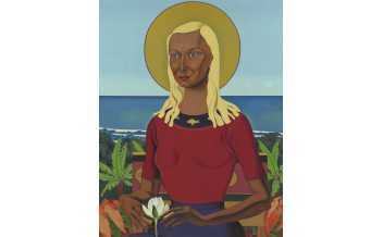 Rita Angus, Rutu, 1951 Oil on canvas, 71.5 x 56 cm Collection of the Museum of New Zealand Te Papa Tongarewa, Wellington. Purchased 1992 with New Zealand Lottery Grants Board funds © Reproduced courtesy of The Estate of Rita Angus