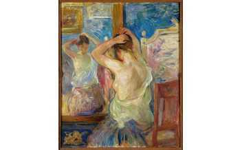 Berthe Morisot Devant la psyché , 1890 Olio su tela, 55x46 cm Collection Fondation Pierre Gianadda, Martigny, Suisse Photo Michel Darbellay, Martigny