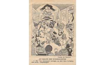 16 Issaiev, Au salon des surréalistes , Le Rire 4 février 1938