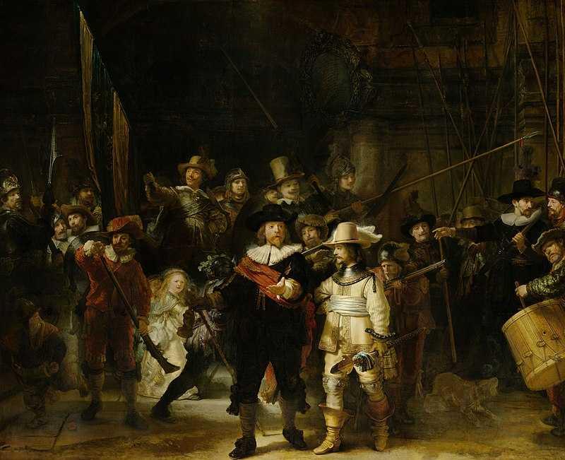 Rembrandt [Public domain]