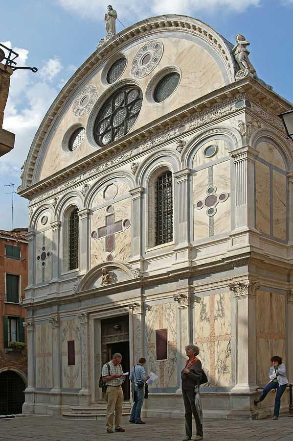 Santa Maria dei Miracoli, Venice / CC BY-SA (https://creativecommons.org/licenses/by-sa/4.0)