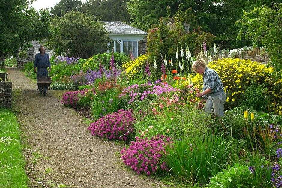 Clovelly Court Gardens, Devon