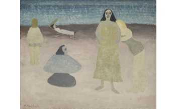 Milton Avery, Seaside, 1931. ©2020 Milton Avery Trust / Artists Rights Society (ARS), New York and DACS, London 2020. Courtesy Victoria Miro and Waqas Wajahat