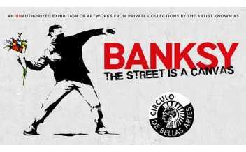 Banksy: The Street is a Canvas, Exhibition, Circulo de Bellas Artes, Madrid: 3 December 2020-9 May 2021