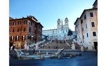 Piazza di Spagna, Rome