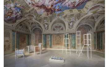 Exhibition view CARLONE CONTEMPORARY: Christine and Irene Hohenbüchler  Photo: Johannes Stoll / Belvedere, Vienna