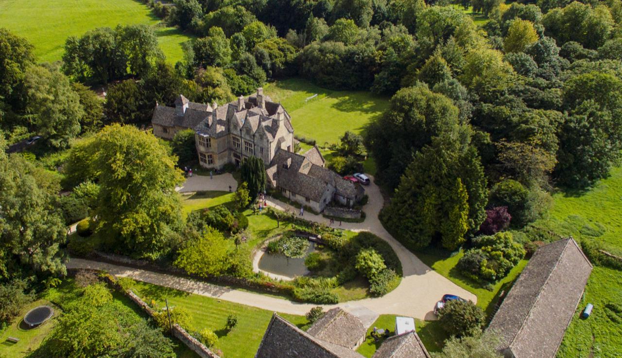 Aerial View Whittington Court